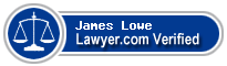 James A. Lowe  Lawyer Badge