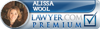 Alissa Joy Wool  Lawyer Badge