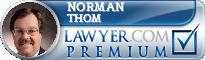 Norman Richard Thom  Lawyer Badge