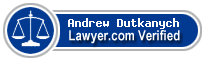 Andrew Dutkanych  Lawyer Badge