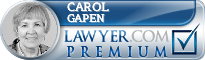 Carol M. Gapen  Lawyer Badge