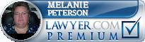Melanie M. Peterson  Lawyer Badge