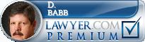 D. Lynn Babb  Lawyer Badge