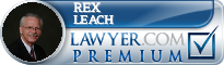 Rex N. Leach  Lawyer Badge