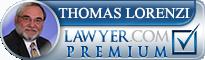 Thomas Lawrence Lorenzi  Lawyer Badge