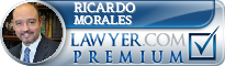 Ricardo E. Morales  Lawyer Badge
