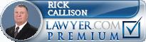Rick Callison  Lawyer Badge
