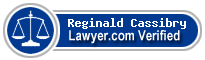 Reginald E. Cassibry  Lawyer Badge