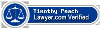 Timothy W. Peach  Lawyer Badge