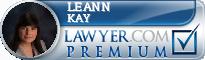 LeAnn Kay  Lawyer Badge