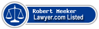 Robert Meeker Lawyer Badge