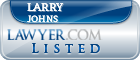Larry Johns Lawyer Badge