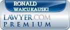 Ronald J. Waicukauski  Lawyer Badge