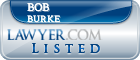 Bob Burke Lawyer Badge