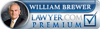 William C. Brewer  Lawyer Badge