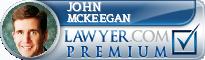 John N McKeegan  Lawyer Badge