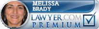 Melissa Brady  Lawyer Badge