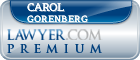 Carol A. Gorenberg  Lawyer Badge