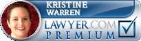 Kristine Warren  Lawyer Badge
