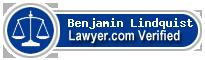 Benjamin Lindquist  Lawyer Badge