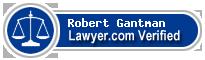 Robert Gantman  Lawyer Badge