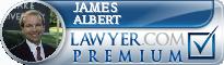 James A. Albert  Lawyer Badge
