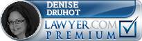 Denise M. Druhot  Lawyer Badge