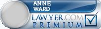 Anne P. Ward  Lawyer Badge