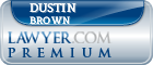 Dustin T. Brown  Lawyer Badge