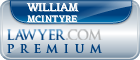 William T. McIntyre  Lawyer Badge
