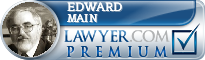 Edward Main  Lawyer Badge