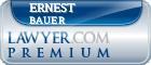 Ernest J. Bauer  Lawyer Badge