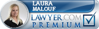 Laura P. Malouf  Lawyer Badge