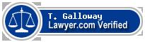 T. Scott Galloway  Lawyer Badge