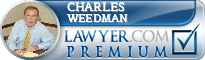 Charles E. Weedman  Lawyer Badge