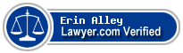 Erin McCall Alley  Lawyer Badge