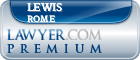 Lewis B. Rome  Lawyer Badge