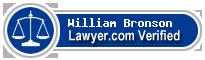 William O. Bronson  Lawyer Badge