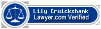 Lily Debrah Cruickshank  Lawyer Badge