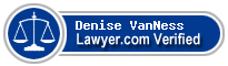 Denise VanNess  Lawyer Badge
