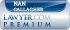 Nan Gallagher  Lawyer Badge