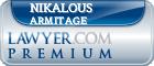 Nikalous Armitage  Lawyer Badge