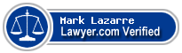 Mark Lazarre  Lawyer Badge