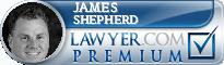 James E. Shepherd  Lawyer Badge