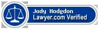 Jody A. Hodgdon  Lawyer Badge