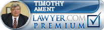 Timothy D. Ament  Lawyer Badge
