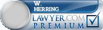 W. Dan Herring  Lawyer Badge