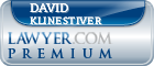 David S. Klinestiver  Lawyer Badge
