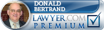 Donald J. Bertrand  Lawyer Badge