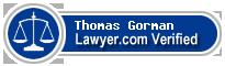 Thomas A. Gorman  Lawyer Badge